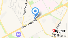 АКЦИО на карте