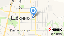 Средняя общеобразовательная школа №13 им. С.В. Залетина на карте