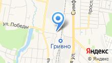 Городская парикмахерская на карте