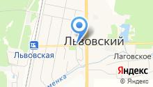 Книголюб на карте