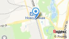 Бусиновское кладбище на карте
