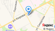 Банк ВТБ на карте