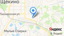 Отдел службы судебных приставов г. Щёкино и Теплоогаревского района на карте