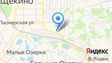 Щёкинский районный суд на карте