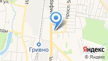 Химчистка на Симферопольской на карте