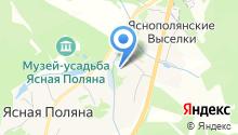 Яснополянская школа им. Л.Н. Толстого на карте