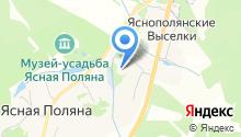 Яснополянская средняя школа им. Л.Н. Толстого на карте