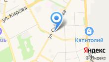 Гусанна на карте