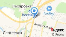 АЗС Нефтьмагистраль на карте