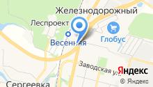 Ресторан быстрого питания на карте