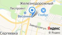 Стеклонайс на карте