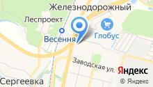 Импорт на карте