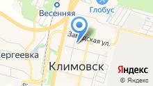 Мировые судьи Климовского района на карте