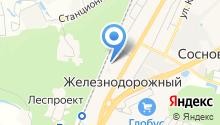 Амбулатория пос. Железнодорожный на карте