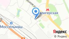 Центральный комитет Профсоюза работников общего машиностроения РФ на карте