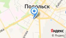 Бильярдный клуб на ул. Свердлова на карте