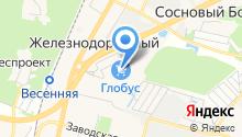 Лисичка на карте