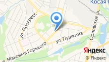 Шпунтик на карте