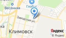 Учебно-спортивный подготовительный центр, НОУ на карте