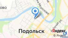 Ассоциация предприятий малого и среднего бизнеса города Подольска, НО на карте