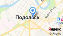 Ветеринарная клиника Подольск на карте