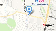 Автогамма на карте