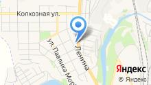 SV-lan на карте