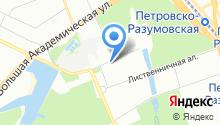 29-й отряд ФПС по г. Москве на карте
