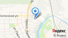 Заречный-2 на карте