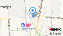 Бистро на Рязановском шоссе на карте