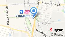 Авторусь на карте