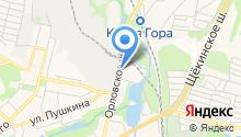 ЛДП на карте