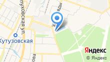 Городская детская поликлиника №2 на карте