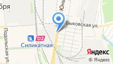 Тойота-юг на карте