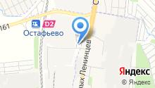 Автостоянка на проспекте Юных Ленинцев на карте