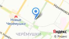 23-й квартал Новых Черемушек на карте