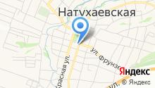 Администрация Натухаевского сельского округа на карте