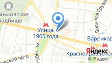 1905.ru на карте
