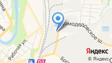 Шиномонтажная мастерская на ул. Лобачева на карте