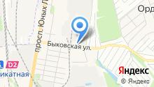 Подольский техноторговый центр, ЗАО на карте