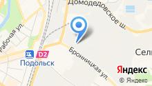 Галла-М на карте