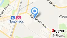 Дестек на карте