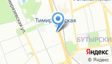 1С на карте