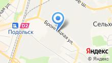 Альфа-Эвакуатор на карте