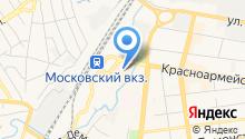 Modis на карте