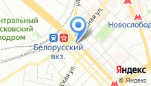 Блиц-перевод на карте