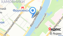 Стройэкспо на Фрунзенской на карте
