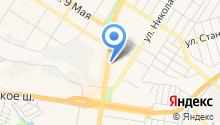 ТЗСК на карте