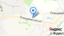 Городская детская поликлиника №1 на карте