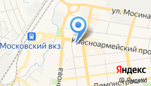 2Е-Студия на карте